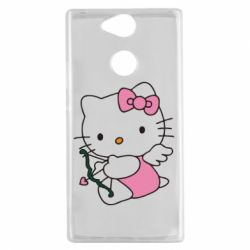 Чехол для Sony Xperia XA2 Kitty амурчик - FatLine