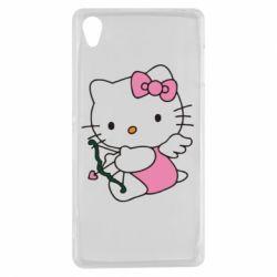 Чехол для Sony Xperia Z3 Kitty амурчик - FatLine