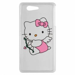 Чехол для Sony Xperia Z3 mini Kitty амурчик - FatLine