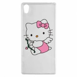 Чехол для Sony Xperia Z5 Kitty амурчик - FatLine