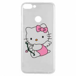 Чехол для Huawei P Smart Kitty амурчик - FatLine