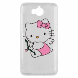 Чехол для Huawei Y5 2017 Kitty амурчик - FatLine