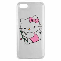 Чехол для Huawei Y5 2018 Kitty амурчик - FatLine