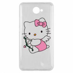 Чехол для Huawei Y7 2017 Kitty амурчик - FatLine