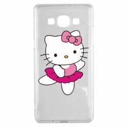 Чехол для Samsung A5 2015 Kitty балярина