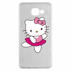 Чехол для Samsung A5 2016 Kitty балярина