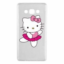 Чехол для Samsung A7 2015 Kitty балярина