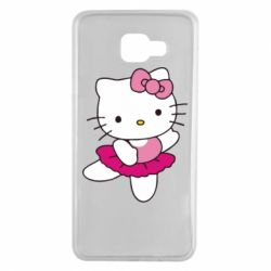Чехол для Samsung A7 2016 Kitty балярина