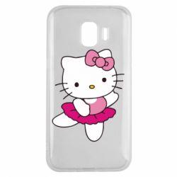 Чехол для Samsung J2 2018 Kitty балярина