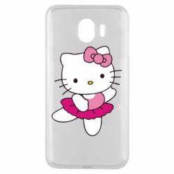 Чехол для Samsung J4 Kitty балярина