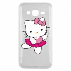 Чехол для Samsung J5 2015 Kitty балярина