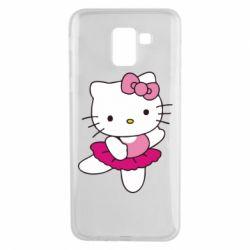 Чехол для Samsung J6 Kitty балярина