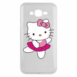 Чехол для Samsung J7 2015 Kitty балярина