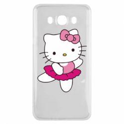 Чехол для Samsung J7 2016 Kitty балярина
