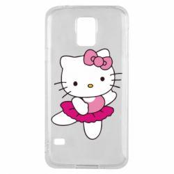 Чехол для Samsung S5 Kitty балярина