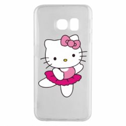 Чехол для Samsung S6 EDGE Kitty балярина