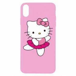 Чехол для iPhone Xs Max Kitty балярина