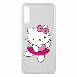 Чехол для Samsung A7 2018 Kitty балярина