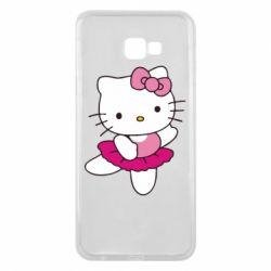 Чехол для Samsung J4 Plus 2018 Kitty балярина