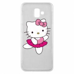 Чехол для Samsung J6 Plus 2018 Kitty балярина