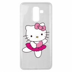 Чехол для Samsung J8 2018 Kitty балярина