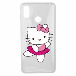 Чехол для Xiaomi Mi Max 3 Kitty балярина