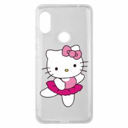 Чехол для Xiaomi Redmi Note 6 Pro Kitty балярина