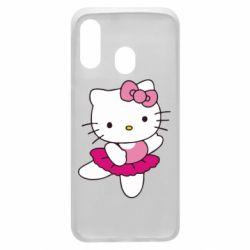 Чехол для Samsung A40 Kitty балярина