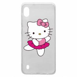 Чехол для Samsung A10 Kitty балярина