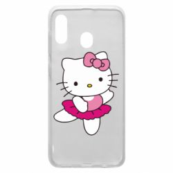 Чехол для Samsung A20 Kitty балярина