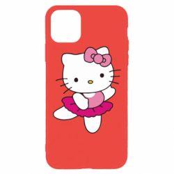 Чехол для iPhone 11 Pro Max Kitty балярина