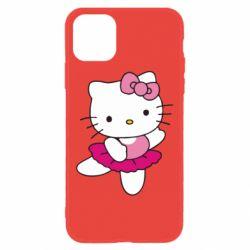 Чехол для iPhone 11 Kitty балярина