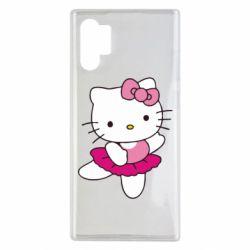 Чехол для Samsung Note 10 Plus Kitty балярина