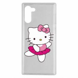Чехол для Samsung Note 10 Kitty балярина