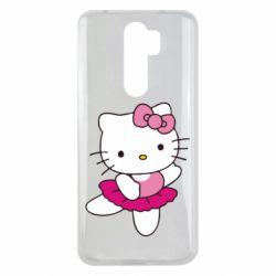 Чехол для Xiaomi Redmi Note 8 Pro Kitty балярина