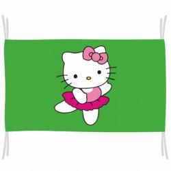 Флаг Kitty балярина