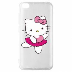 Чехол для Xiaomi Redmi Go Kitty балярина
