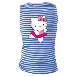 Майка-тільняшка Kitty балярина - FatLine