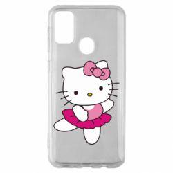 Чехол для Samsung M30s Kitty балярина