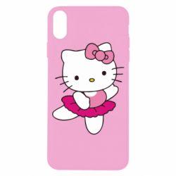Чехол для iPhone X/Xs Kitty балярина