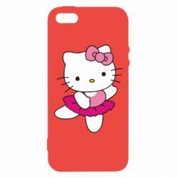 Чехол для iPhone5/5S/SE Kitty балярина
