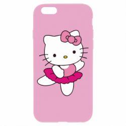Чехол для iPhone 6/6S Kitty балярина