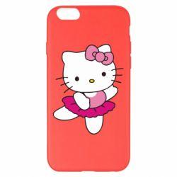 Чехол для iPhone 6 Plus/6S Plus Kitty балярина