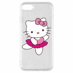 Чехол для iPhone 8 Kitty балярина