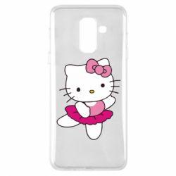 Чехол для Samsung A6+ 2018 Kitty балярина