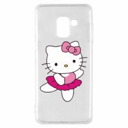 Чехол для Samsung A8 2018 Kitty балярина