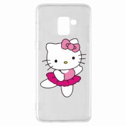 Чехол для Samsung A8+ 2018 Kitty балярина