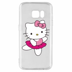 Чехол для Samsung S7 Kitty балярина