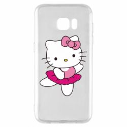 Чехол для Samsung S7 EDGE Kitty балярина