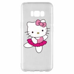 Чехол для Samsung S8+ Kitty балярина